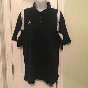 Adidas Navy Blue Collared Climacool Shirt